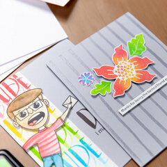 From the FREE Scrapbook.com Class Ultimate Stamping Hacks with Simon Hurley