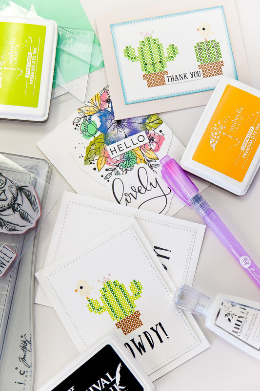 Lesson 5: Tips for Improving Your Stamping- Creating Bolder Images, Straight Lines, and Backgrounds- How to Begin Cardmaking Lik