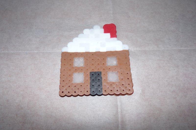 Perler Bead House