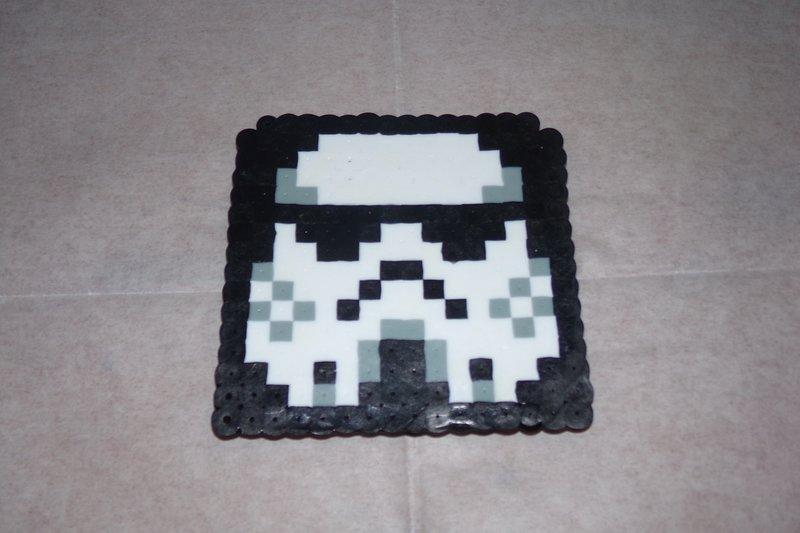 Perler Bead Star Wars Coaster