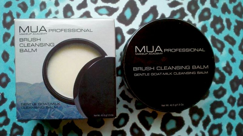 MUA brush cleansing balm
