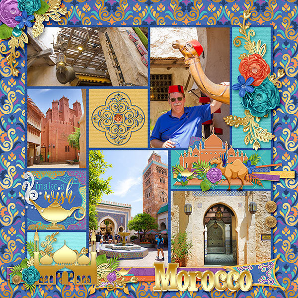 A Whole New World In Epcot's Morocco