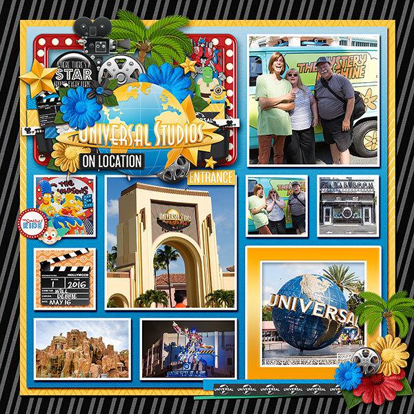 Universal Studios Orlando 2016