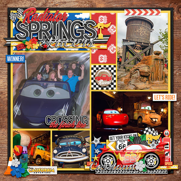 Start Your Engines at Radiator Springs Racers