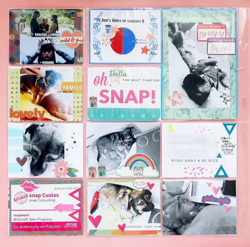 Project Life Spread Share