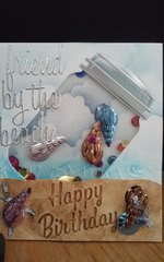 Beach Happy Birthday Card