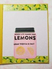Lemon Card - inside
