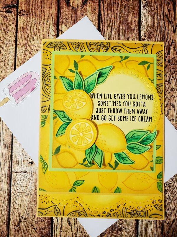 Lemons & Ice Cream Card