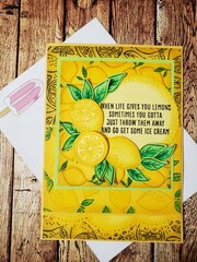 Lemons & Ice Cream Card
