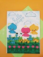 Hello Peeps Card