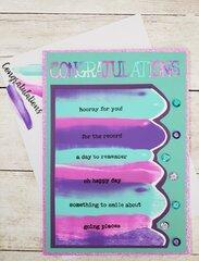 Glitzy Graduation Card