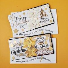 Money Holder Card for Christmas