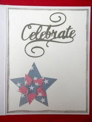 4th of July Card - inside