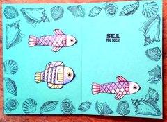 Shaker card - Aquarium