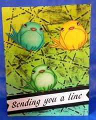 Sending a Line