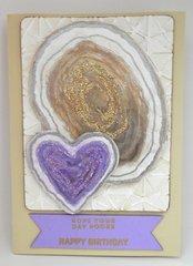Geode Birthday Card