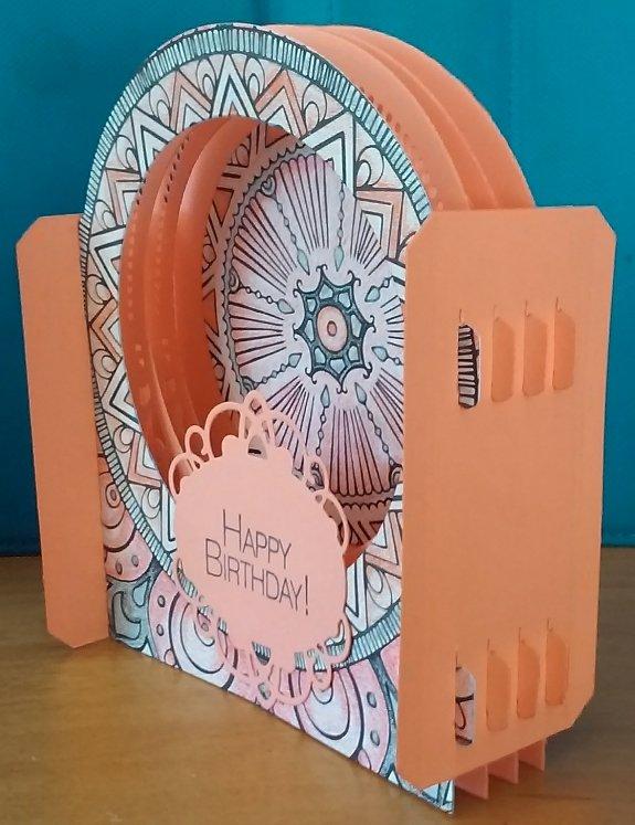 Birthday Card - Spellbinder's 3D