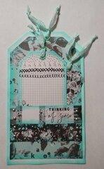 Rose Tag Card