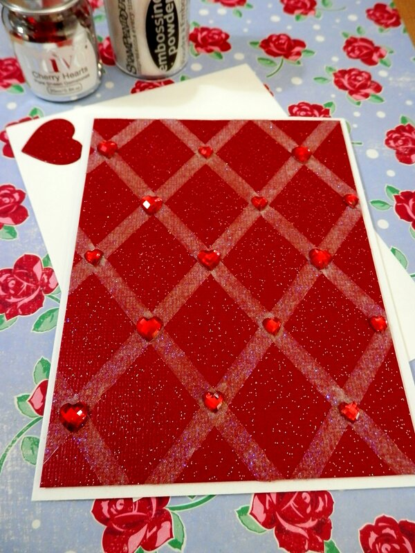 Heart Grid Card
