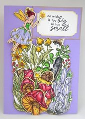 Fairy Garden Birthday Card