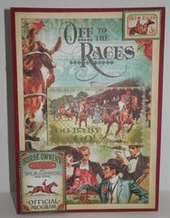 Off To the Races Birthday Card