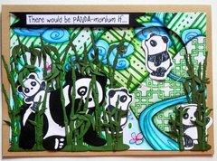 Panda Spinner Card
