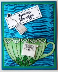 You are Tea-riffic Thank You Card
