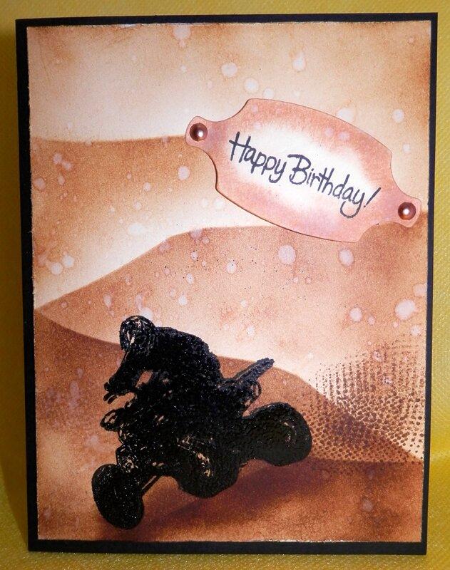 ATV Birthday Card