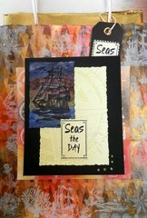 Seas The Day Card/Gift Bag