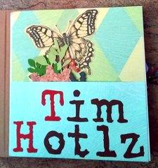 Tim Holtz Tribute Flip Book