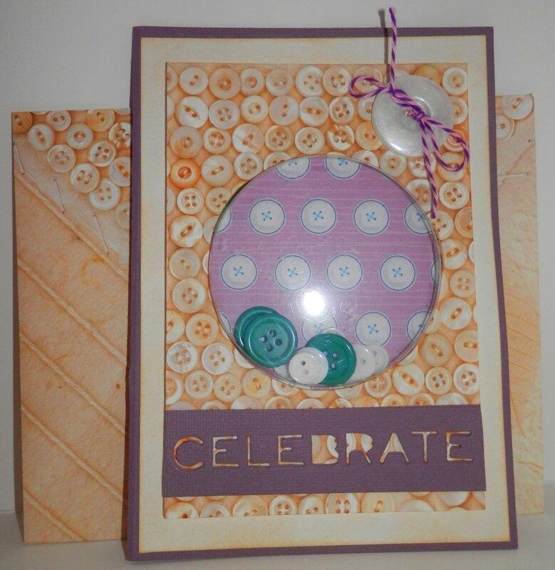 Button Shaker Card