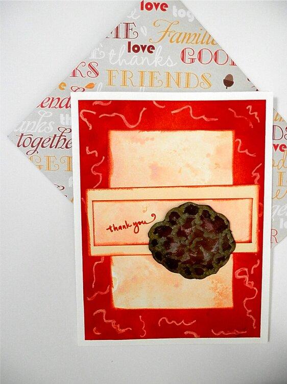 Spaghetti & Meatball TY Card
