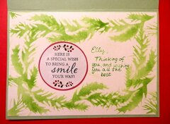 Ornament Christmas Card - inside