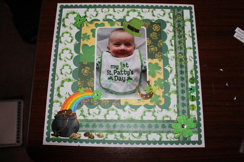 Erin's 1st St. Patricks Day