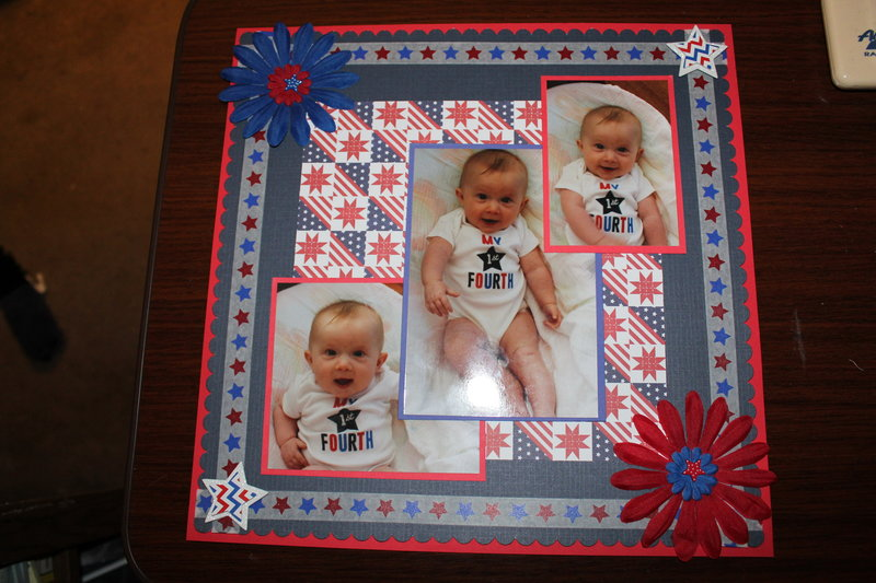 Erin's 1st 4th of July