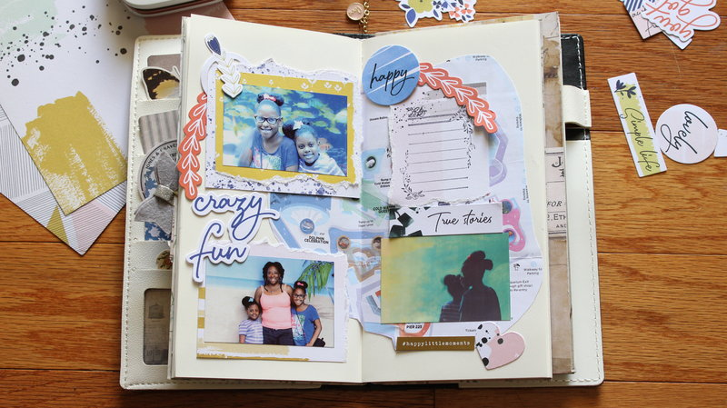"""Every Day Fun"" Travel Journal Layout"