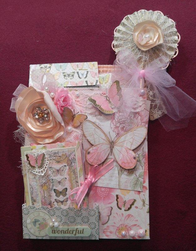 Butterfly themed loaded envelope