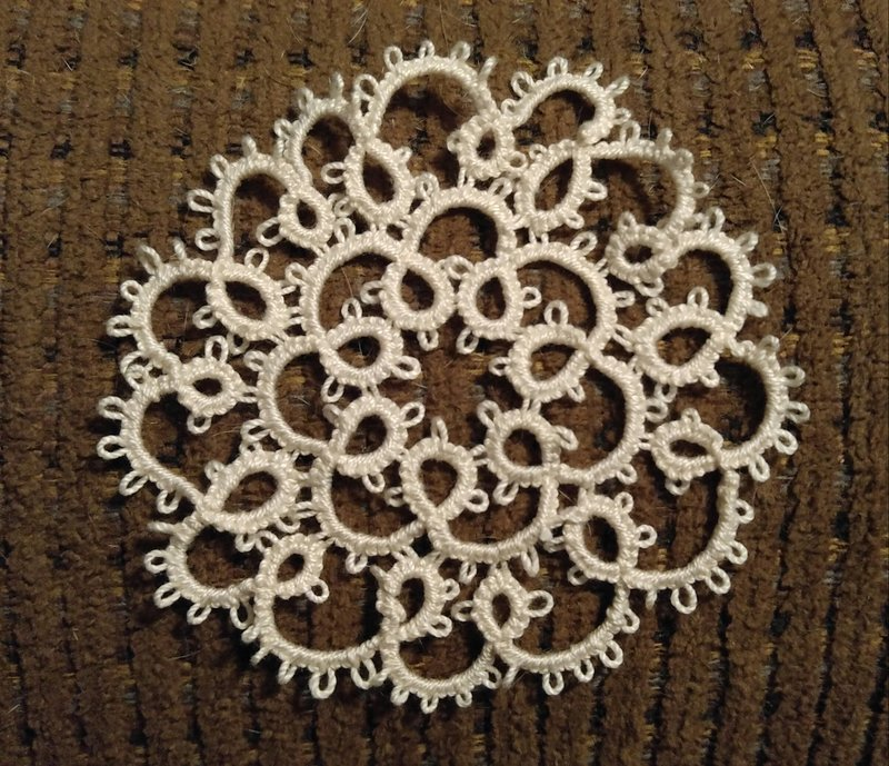 Two row doily