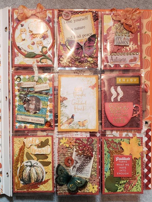 Nov '18 PL for Rebecca, made with BoBunny fall paper