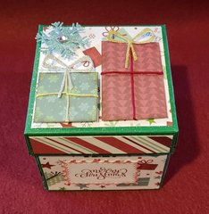 Top of the gift box