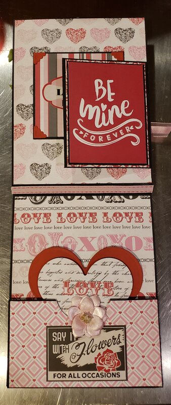 Inside Valentine folio