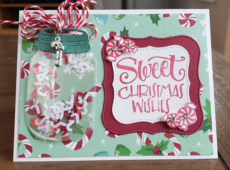 Christmas wishes card for my grandkids