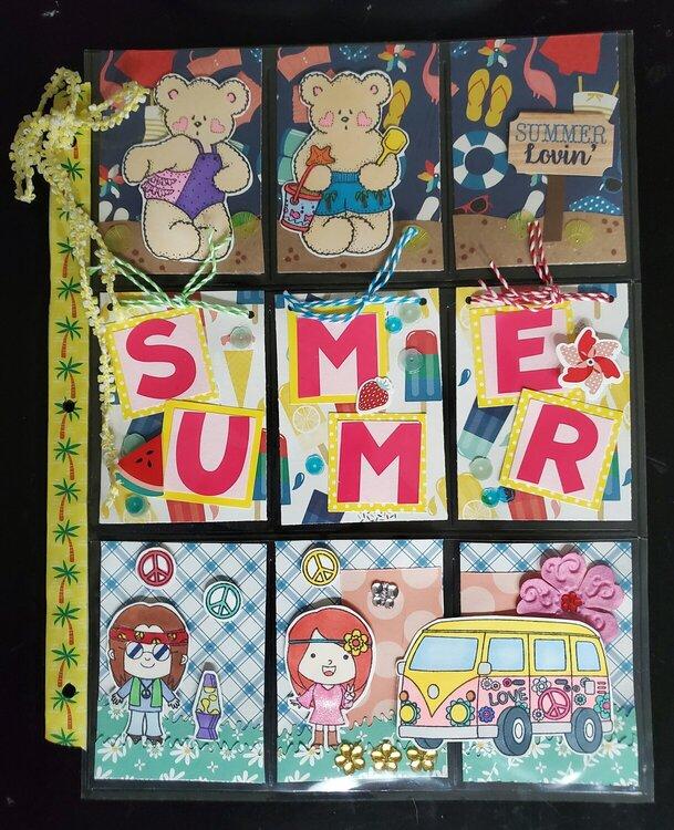 August California Summer Pocket Letter