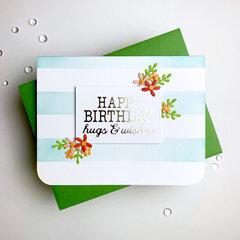 Happy Birthday {Spellbinders}
