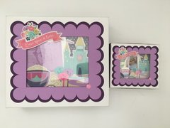 Matching Girl and Doll Scrapbooks