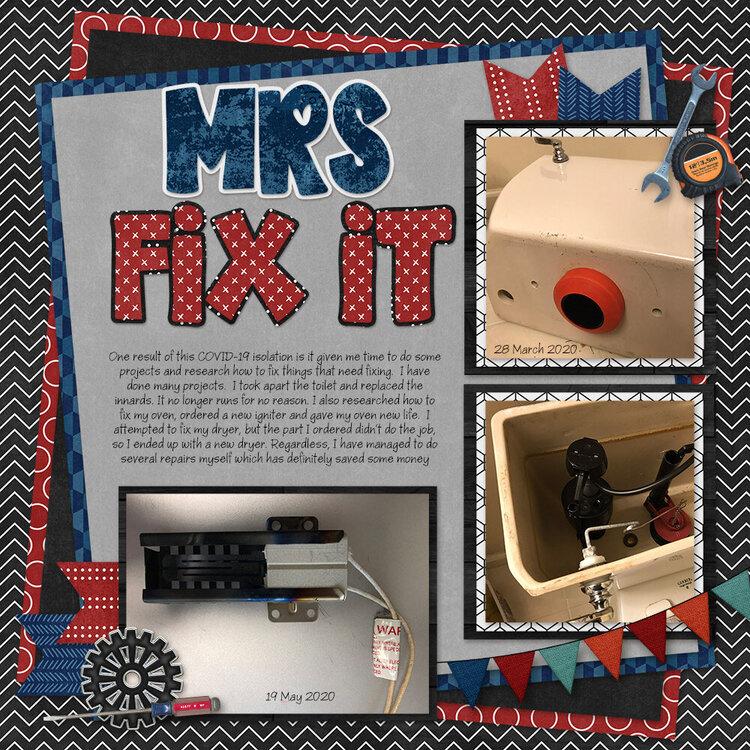 Mrs Fix It