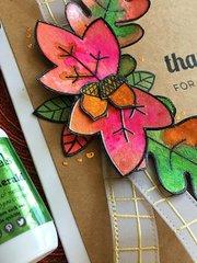 Fall Card using Ken Oliver Color Burst
