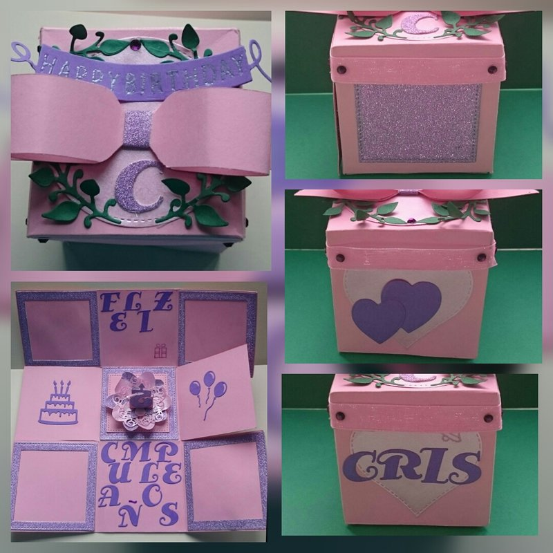 Gift explosion box