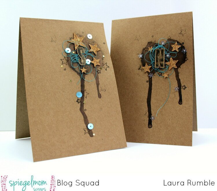 Initail note cards