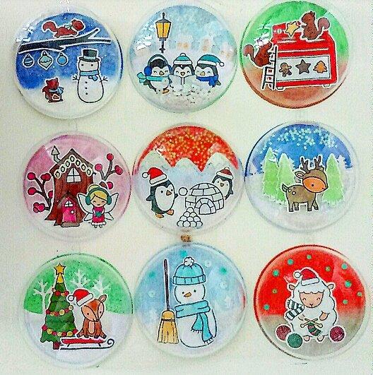 Décorations boules de Noël